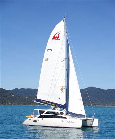 Reflections Lightwave45 Sailing Catamaran