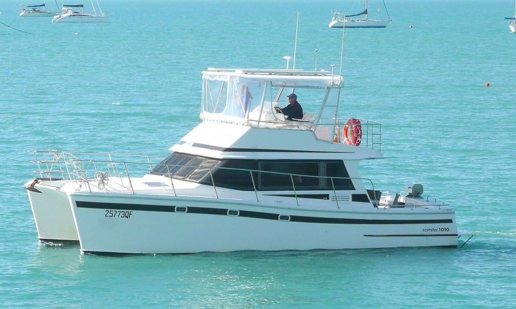 Mojo Scimitar 1010 Power Catamaran Charter Yachts