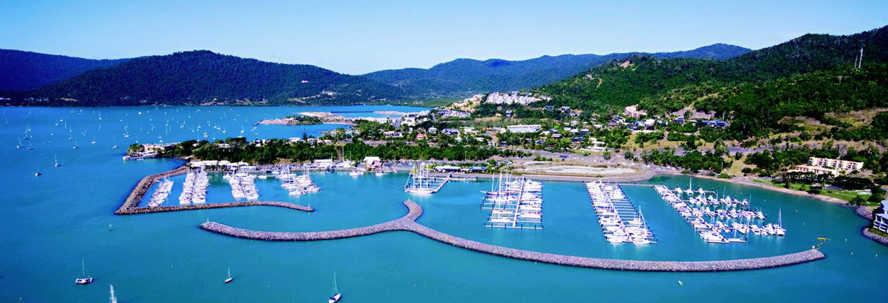 Charter Yachts Australia Home base - Abell Point Marina