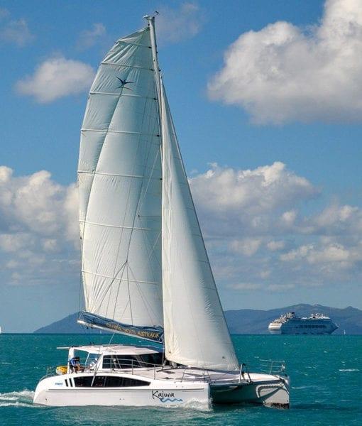Charter Yachts Australia Kajura Seawind 1260 Under Sail