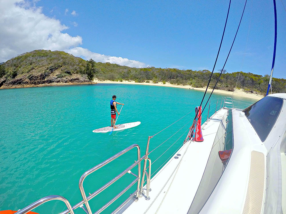 Stand Up Paddleboarding in the Whitsundays