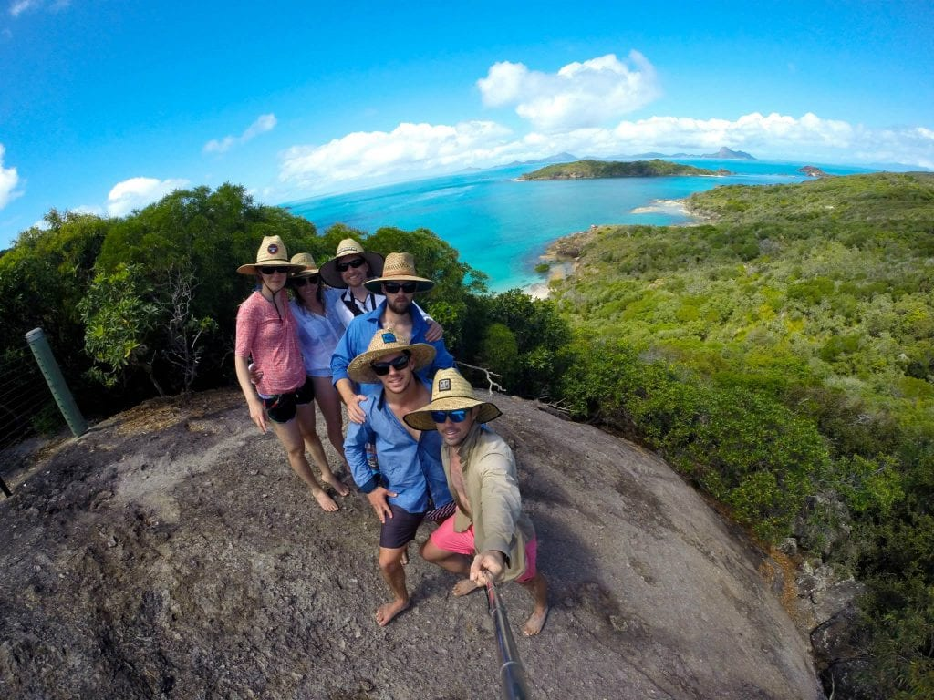 Hiking in the Whitsundays