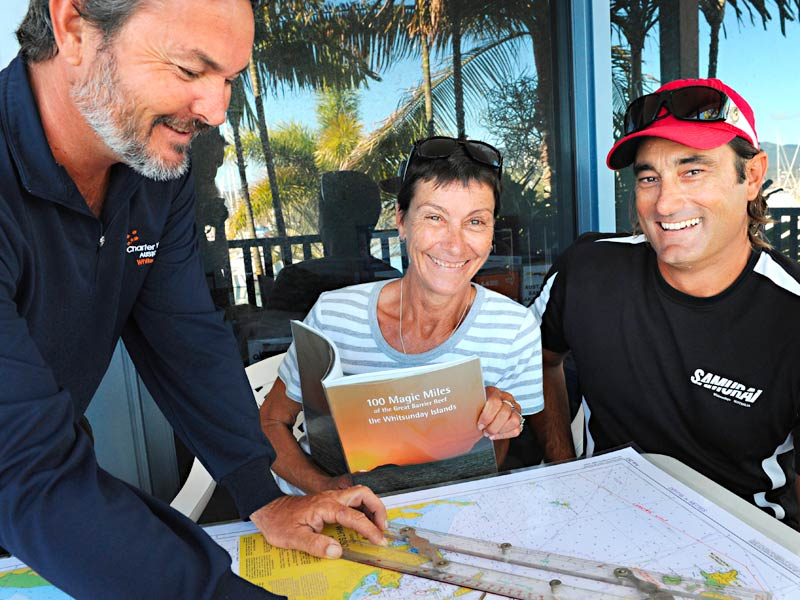 All of our charters include a comprehensive four hour briefing with our skilled yachtspeople