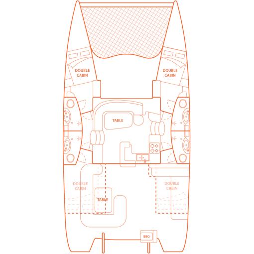 Two Keel A Leopard 46 Sailing Catamaran