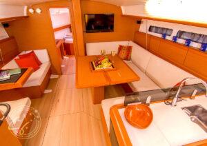"""""""LeiZar"""" Jeanneau Sun Odyssey 439 Saloon"""