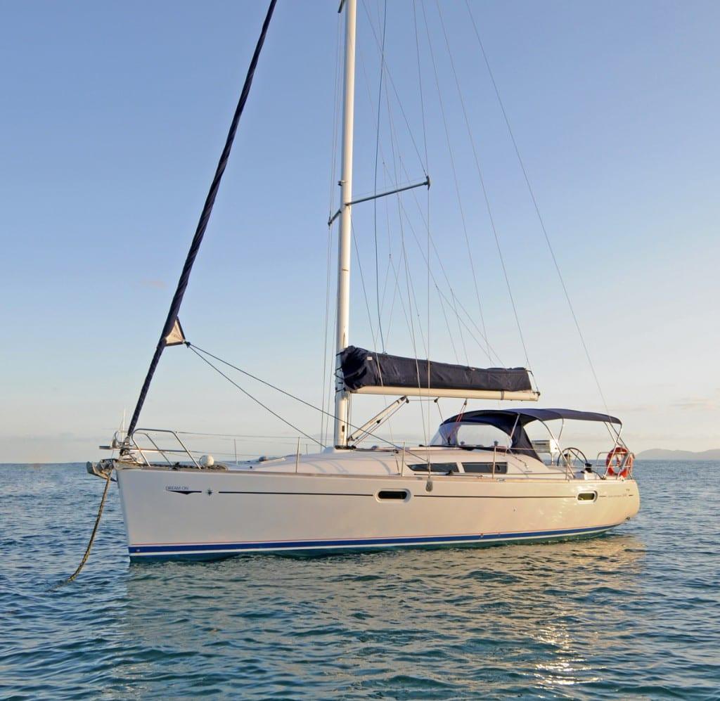 Dream On Jeanneau Sun Odyssey 39i Sailing Yacht