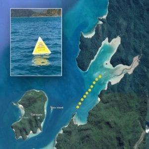 Cid Harbour No Swim Area Shark Safety