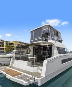 Fountaine Pajot MY 37 power catamaran