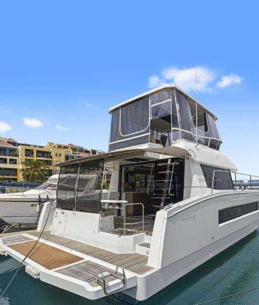 Fountaine Pajot MY 37 power catamaran