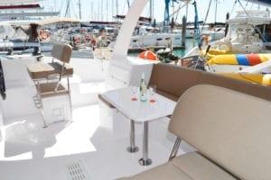 'Kajura' Seawind 1260 Sailing Catamaran Cockpit Table