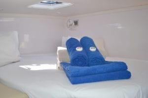 'Kajura' Seawind 1260 Sailing Catamaran Port Forward Cabin