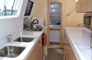 Kajura Galley with Microwave