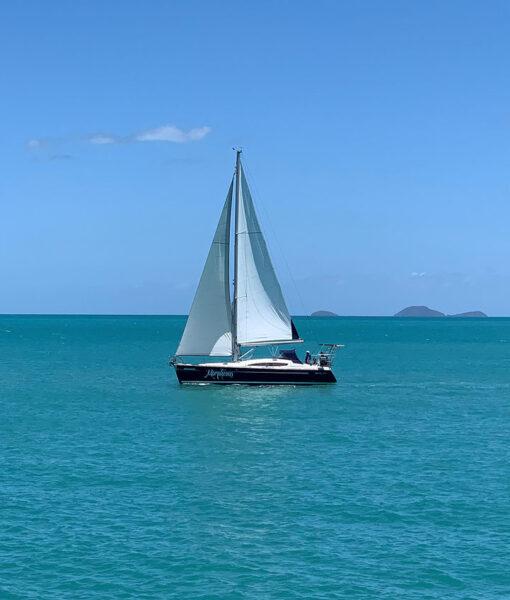 Morpheous Elan 44 Sailing Yacht under sail