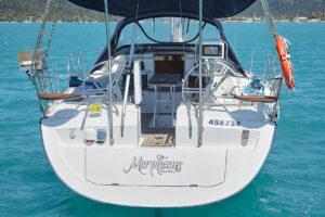 Charter Yachts Australia Morpheous Stern View