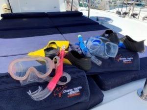 'Vela Perfecta' Fountaine Pajot 44 Sailing Catamaran Water Activites