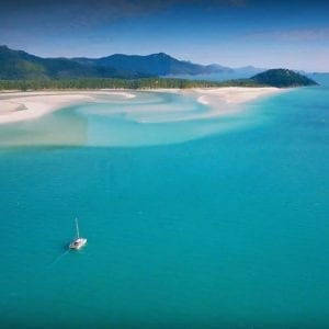 Whitehaven Beach Hill Inlet, Whitsunday islands