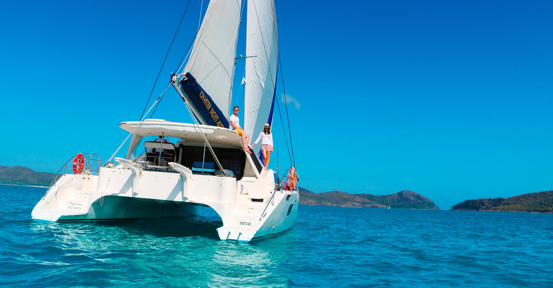 Sailing in the Whitsundays | Charter Yachts Australia