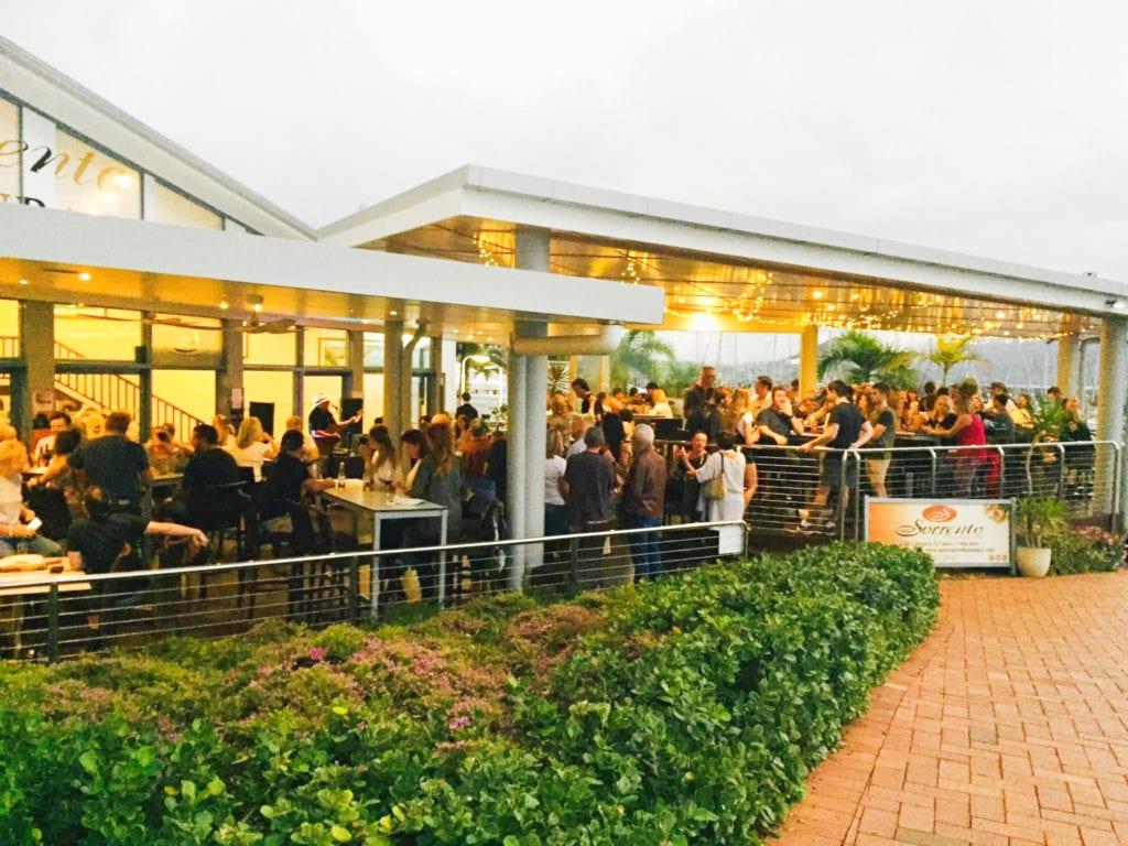 Coral Sea Marina Resort celebrations at Sorrento Restaurant