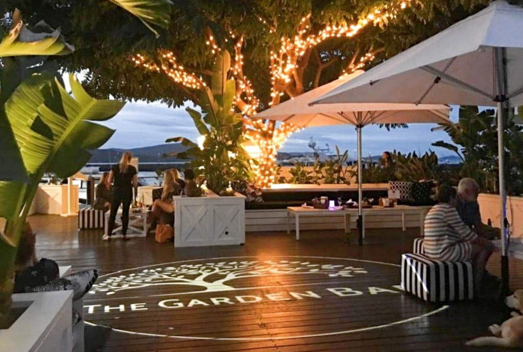 The newly opened Garden Bar Bistro at Coral Sea Marina