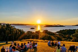 One Tree Hill sunset, Hamilton Island