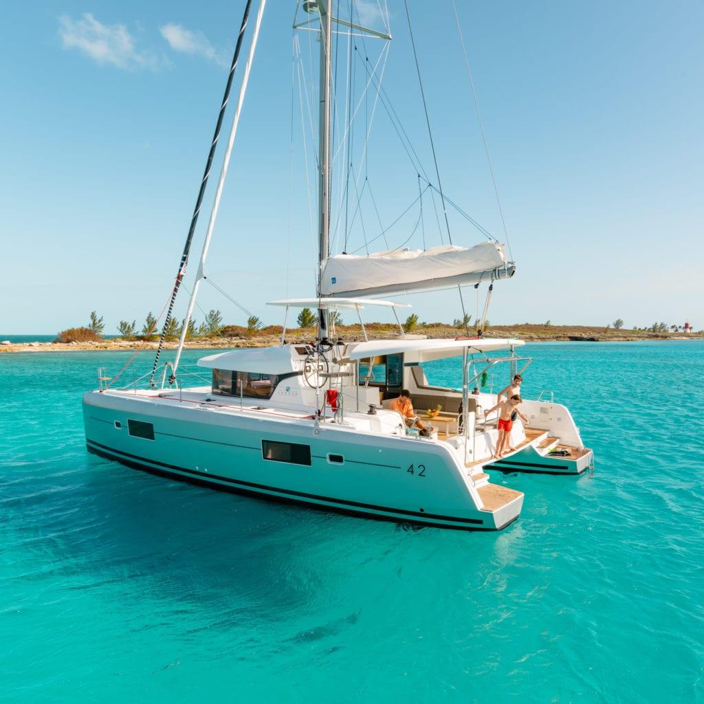 Charter Yachts Australia Lagoon 42 Sailing Catamaran