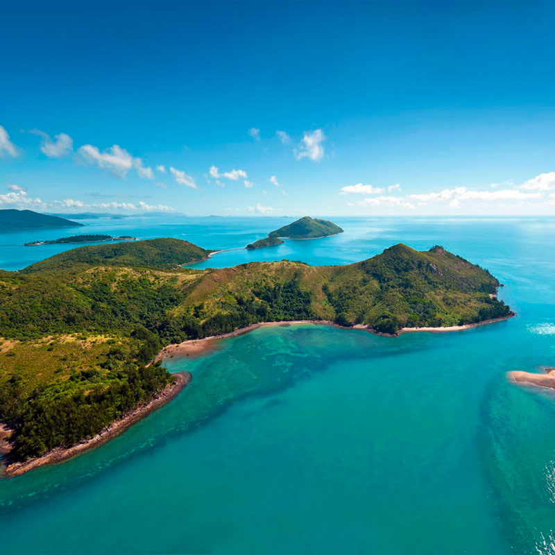 The Molle Islands, Whitsundays
