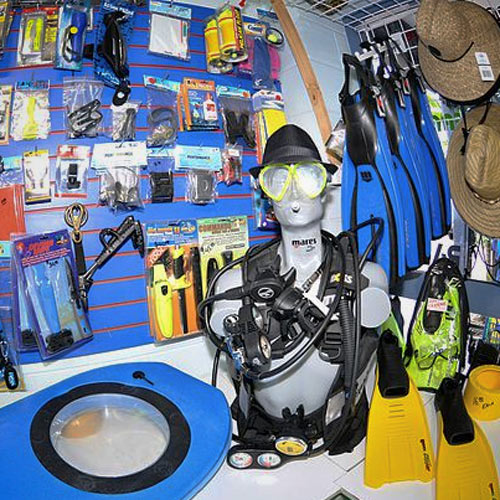 SCUBA diving equipment rental from Aqua Dive