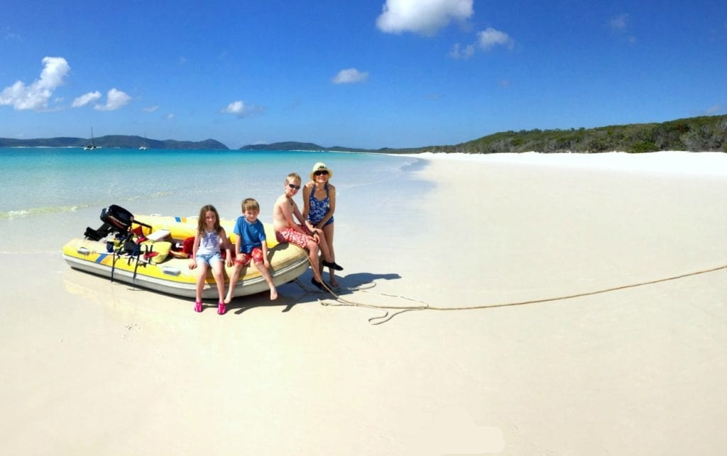 WHITEHAVEN BEACH FOR FAMILIES